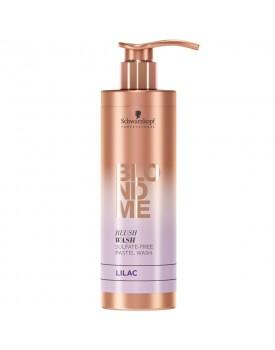 Schwarzkopf Blonde Me Blush Wash Shampoo 250ml -Lilac