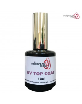 Millennium Nails UV Gel Polish Top Coat 15ml