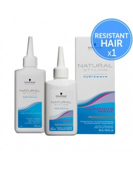 Schwarzkopf Natural Styling Hydrowave Perm -0 Resistant Hair