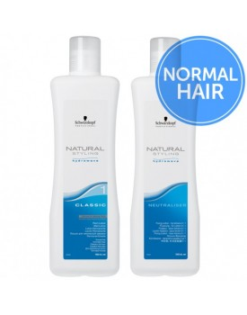 Schwarzkopf Natural Styling Classic Perm + Neutraliser-Duo Pack -1 Normal Hair