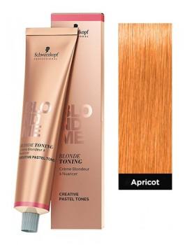 Schwarzkopf BlondMe Blonde Toning Cream 60ml Tube -Apricot