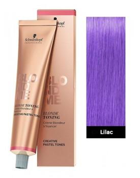 Schwarzkopf BlondMe Blonde Toning Cream 60ml Tube -Lilac