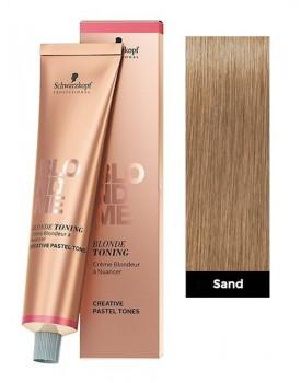 Schwarzkopf BlondMe Blonde Toning Cream 60ml Tube -Sand