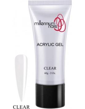 Millennium Nail Acrylic Gel -Clear 60g