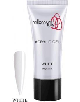 Millennium Nail Acrylic Gel - White 60g