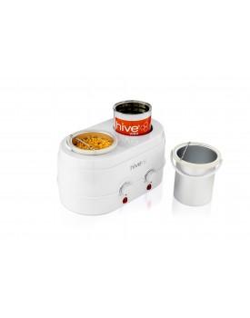 Hive Of Beauty Dual Analogue Wax Heater 1Litre & 0.5 Litre