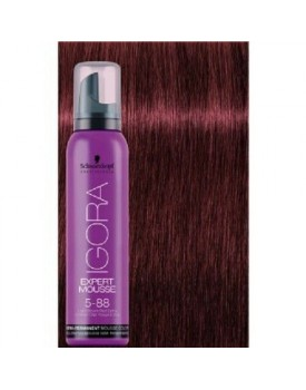 Igora Expert Semi Permanent Color Mousse -5.88 Light Brown Red Extra