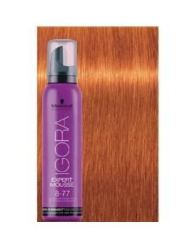 Igora Expert Semi Permanent Color Mousse -8.77 Light Blonde Copper Extra