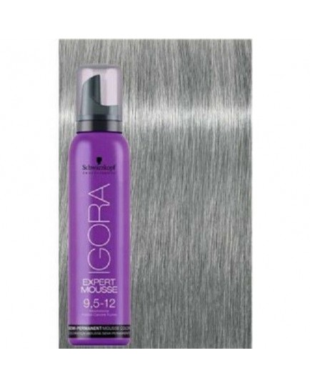 Igora Expert Semi Permanent Color Mousse -9-5-12 Moonstone Blonde Pastel