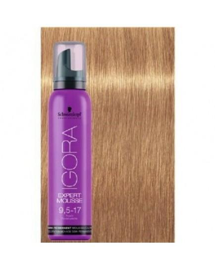Igora Expert Semi Permanent Color Mousse -9-5-17 Peach Pastel
