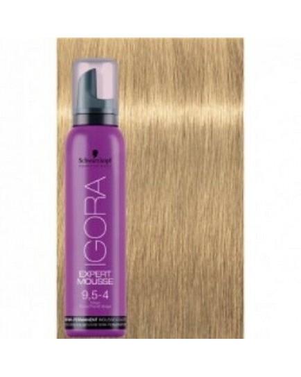 Igora Expert Semi Permanent Color Mousse -9-5-4 Beige Blonde Pastel