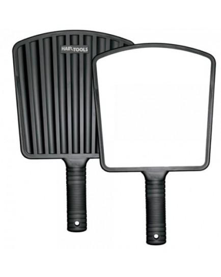 Hair Tools Black Eco Hand Held Mirror