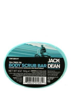 Jack Dean Body Scrub Bar Tea Tree Oil