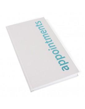 Agenda-3 Column Appointment Book-White