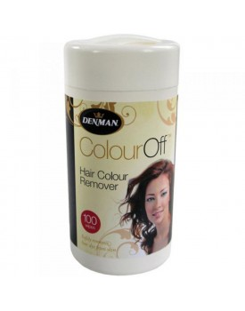 Denman Colour Off Hair Colour Remover Wipes (100)