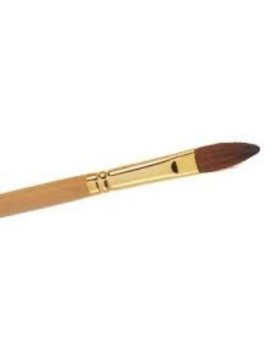 The Edge No10 Kolinsky Sable OVAL Brush