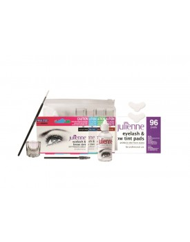 Julienne Eyelash and Eyebrow 8 Piece Tint