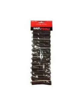 HairTools Perm Rods - Black 16mm (Pack of 12)