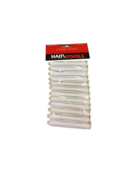 HairTools Perm Rods - White 6mm (Pack of 12)