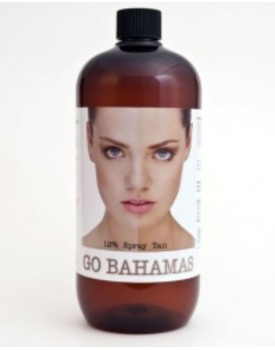 Go Bahamas 12% Spray Tan Solution 1litre