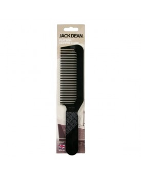 Jack Dean Flat Top Clipper Comb BLACK by Denman