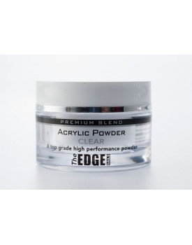 The Edge Premium Blend CLEAR Acrylic Powder 8g Pot
