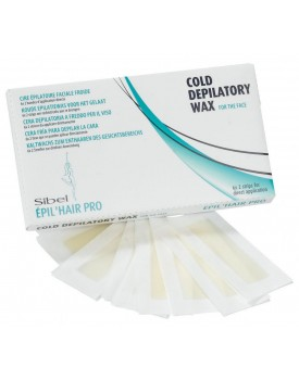 Sibel Cold Depilatory Wax For The Face (6 x 2 strips for direct