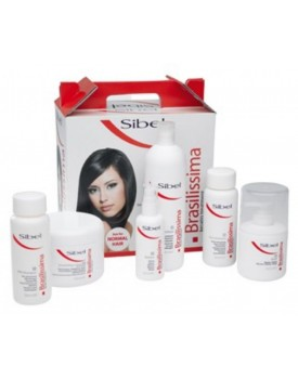 Sibel Brasilissima Brazilian Straightening Keratin Treatment Box for NORMAL