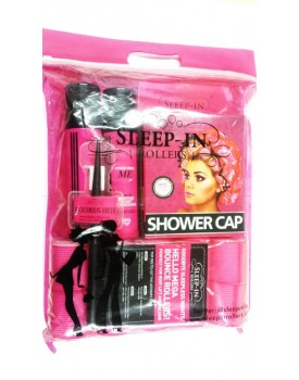 SLEEP-IN ROLLERS KIT WITH SHOWER