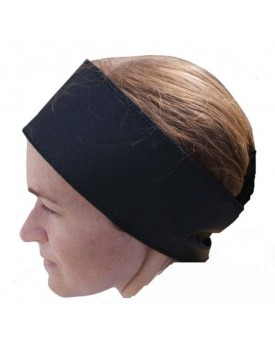 10 x Black Disposable Headbands for spa treatments