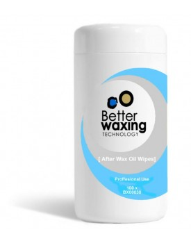 Better Waxing Technology After Wax Oil Wipes