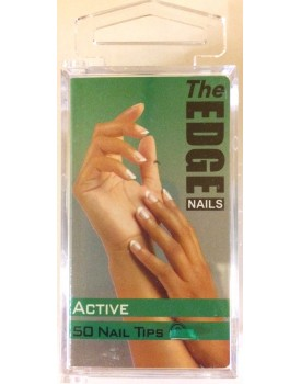 The Edge Active Nail Tips 50 Size 1