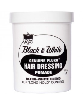 Black & White Hairdressing Pomade 200ml