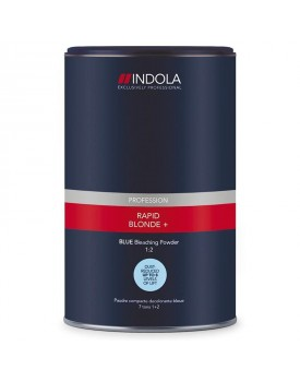 INDOLA PROFESSIONAL RAPID BLONDE POWDER BLEACH BLUE 450G TUB