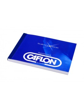 Caflon Ear Piercing Registration Book 100 pages