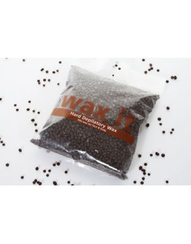 Wax It Chocolate Hard Depilatory Hot Wax Beads 500g