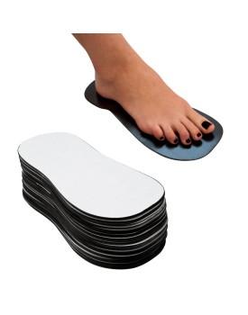 Disposable Spray Tan Sponge Foam Sticky Feet x25 Pairs