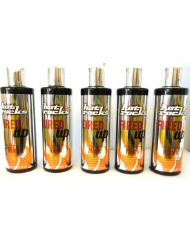 Hot Rocks Fired Up 15xx Extra Dark Bronzing Lotion (SALON RETAIL PACK) 5 X 250ML BOTTLES