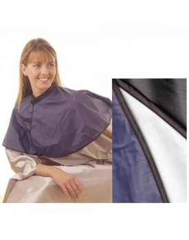 Hair Tools PVC Hairdressing Shoulder Cape Black