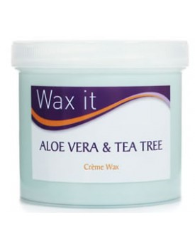 WAX IT ALOE VERA & TEA TREE CREME WAX